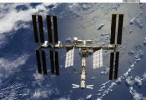 ATV docked on ISS © NASA/JSC/, 2008